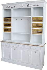 Buffetschrank in Weiß Shabby Chic Design