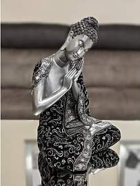 Figur Betender Buddha World Menagerie