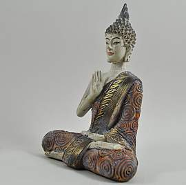 Figur Buddha sitzend World Menagerie