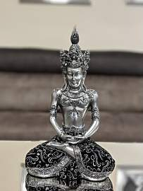 Figur Meditierender Buddha World Menagerie