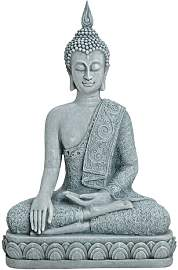 Figur Sealrock Buddha sitzend World Menagerie