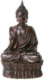 Figur Sitzender Buddha Johan (Set of 2) World