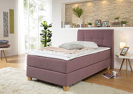 Home affaire Boxspringbett Arlon, in 4 Farben,