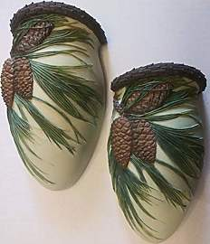 Ibis & Orchid Designs Ltd Wandvase, Pinecone, 2