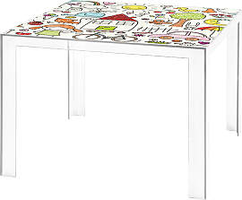 Kartell Invisible Kids Kindertisch